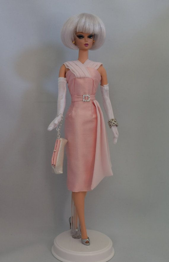 Silkstone Barbie Fashion - Evening in Pink