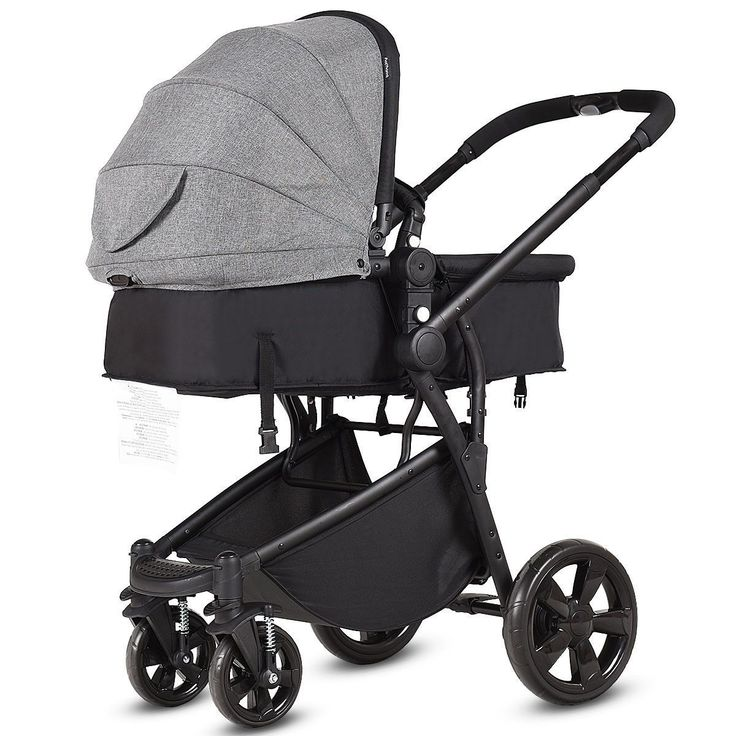 2in1 Folding Aluminum Buggy Newborn Travel Baby Stroller