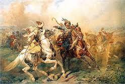 18 – Más lejos, en las estepas del Asia Central habitaban los tártaros y mongoles.