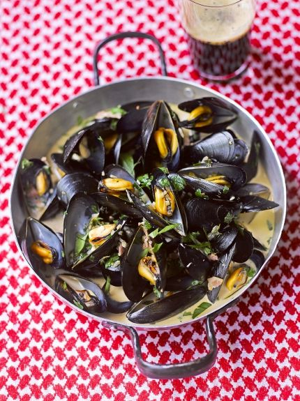 Mussels with Guinness | Jamie Oliver