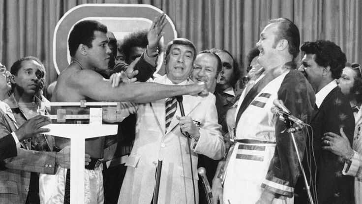 Muhammad Ali – Funny – Ali vs Chuck Wepner Weighin