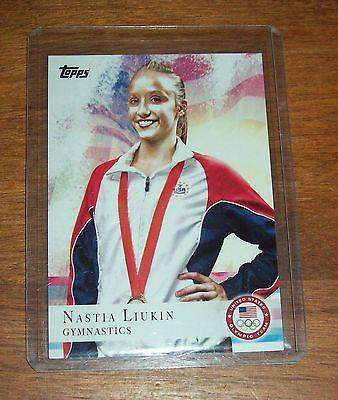2012 Topps Olympics Gymnastics Nastia Liukin Card*
