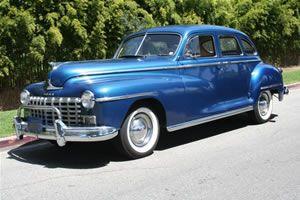 1946-47-48 Dodge Sedan