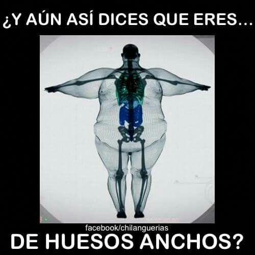 Huesos anchos
