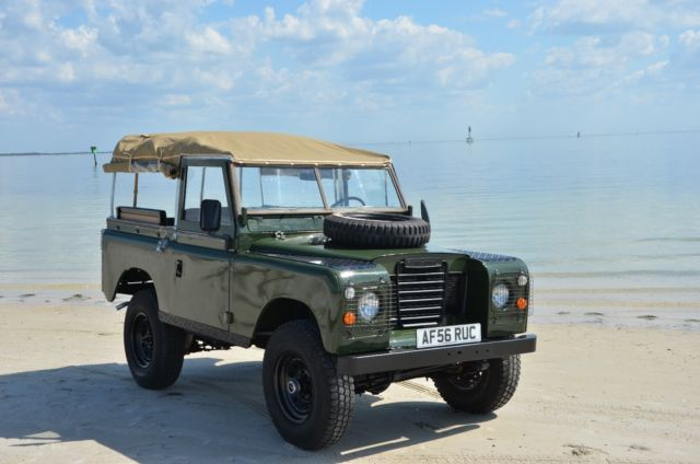 1974 Land Rover Series 3 pre Defender for sale: photos, technical specifications, description