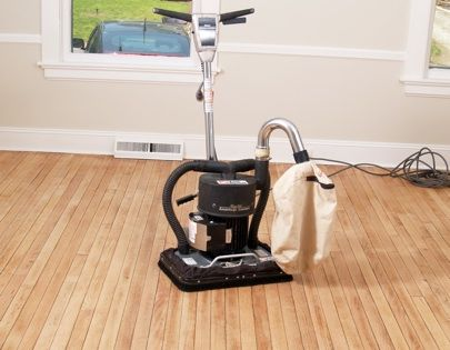 DIY Floor Sander -- Bob Villa recommends an orbital sander for DIY projects