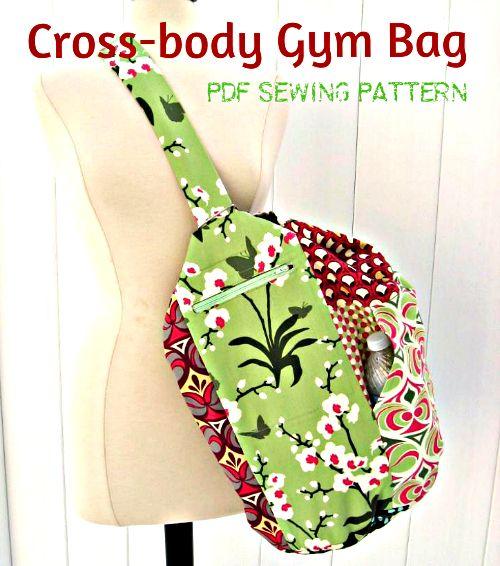 Beautiful Gym Duffle Bag - Sewing ePattern