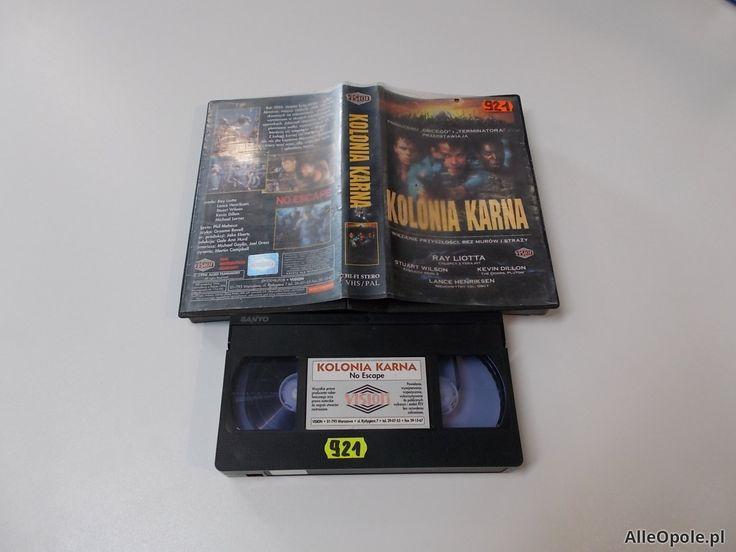 KOLONIA KARNA - VHS Kaseta Video - Opole 1663 (Opole)