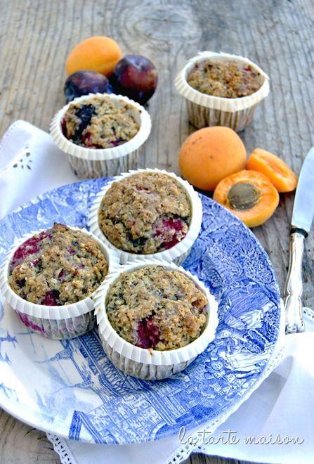 Muffin vegan con semi di lino | La tarte maison