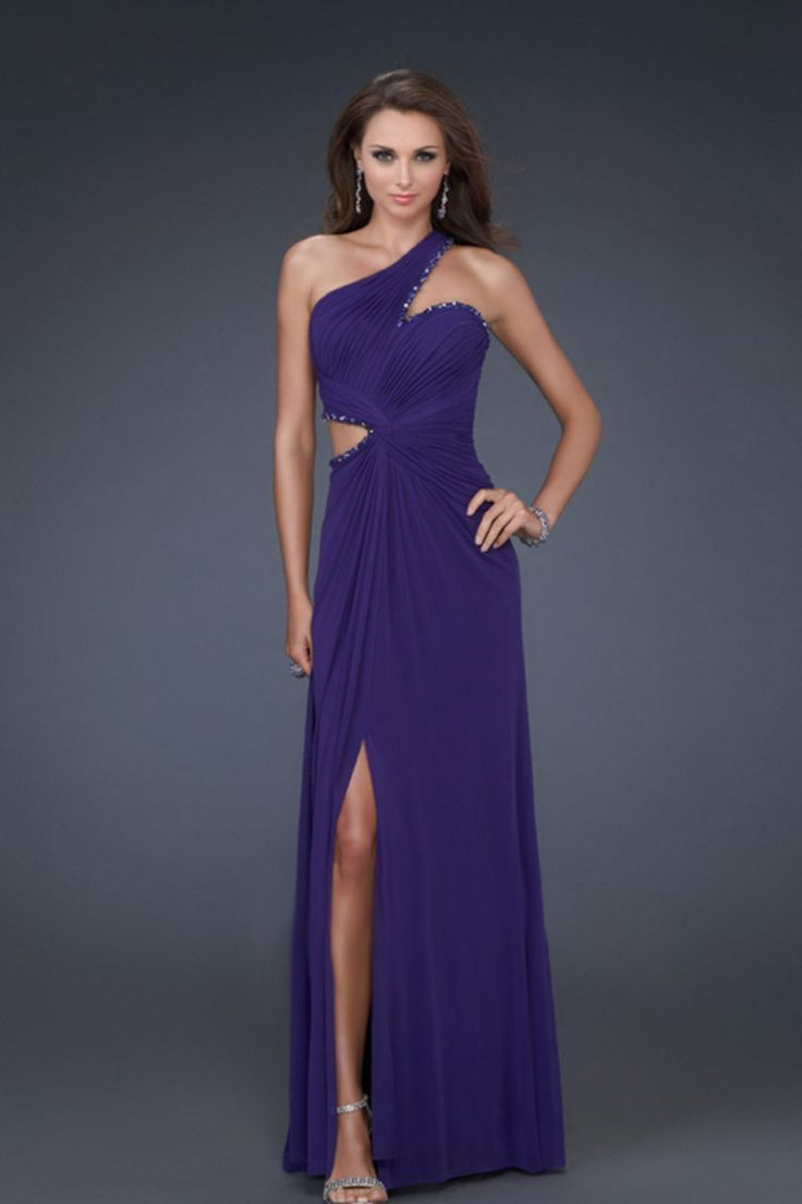 Buy 2012 Collection Petite Size Prom Dresses Floor Length One Shoulder Beading Sequins On line
