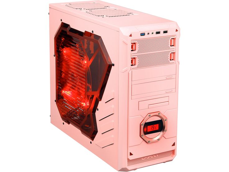APEVIA X-DREAMER4 Series Pink Computer Case | Computer Hardware ...