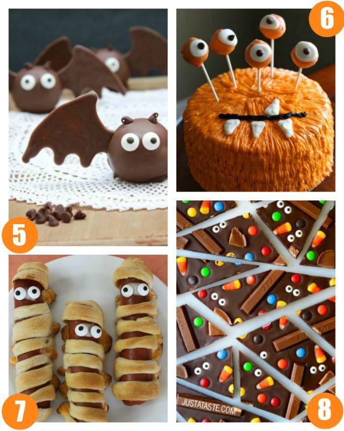 halloween food crafts for kids