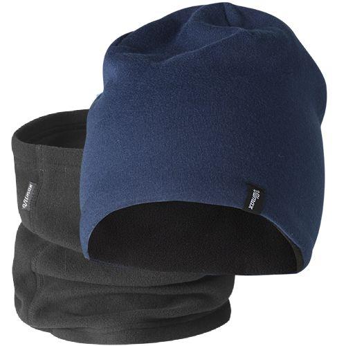Merino Hat Set Junior Merinovillainen pipo lämmittävällä fleece-vuorella. Fleecekauluksessa tarrakiinnitys.  Koko: 52-56 Materiaali: Ulkopuoli: 70% Merinovillaa, 30% Polyamidia, Sisäpuoli: 100% Polyesteriä #Merinovilla #Ullmax