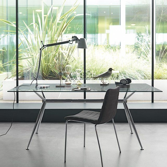 The Brioso Table Features Minimal, Modern Lines, Designed To Adapt  Perfectly To Contemporary Spaces