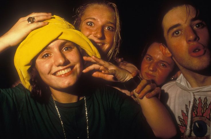 c. 1988-1990: Acid House Ravers in the Second Summer of Love