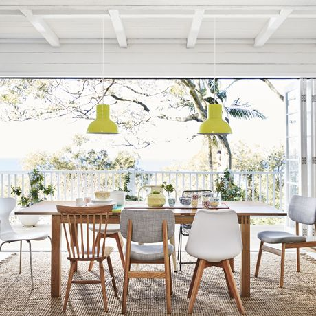 Larsson Dining chair - arena cement - Freedom Furniture