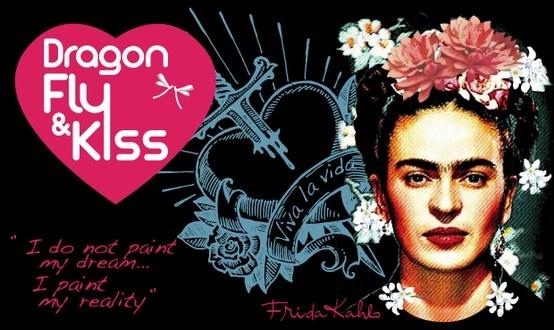 Dragonfly & Kiss Project est un collectif qui a décidé d'agir en créant des collections capsules de produits haut de gamme, mode ou design.  Ces collections sont créées autour d'un thème, d'un artiste, d'un événement.  Le bénéfice de ces opérations ira à des œuvres choisies dans lesquelles les membres du collectif sont impliqués.  La première opération démarre avec Frida Kahlo, à l'occasion de l'expo de l'artiste à l'Orangerie en octobre 2013 à Paris.