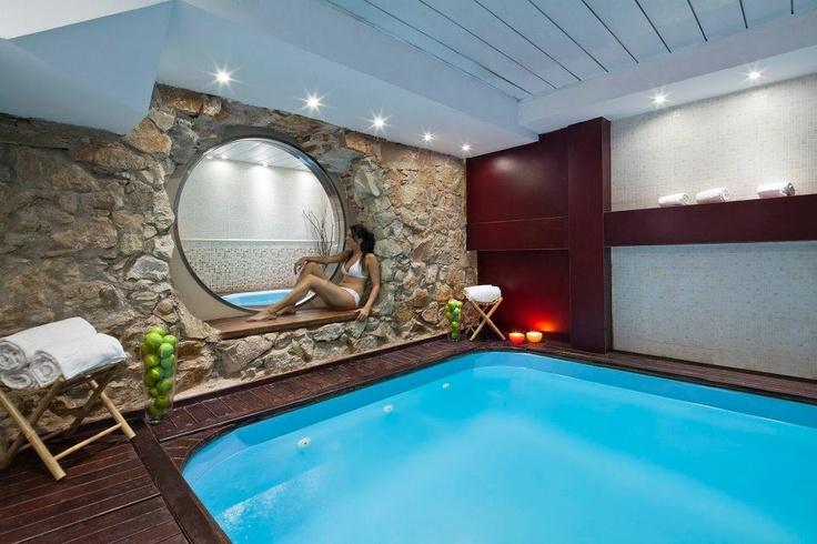 Ahora mismo me pegaba un bañito... #Piscina en el hotel Acta Atrium Palace
