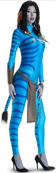 Disfraz chica Avatar. Neytiri