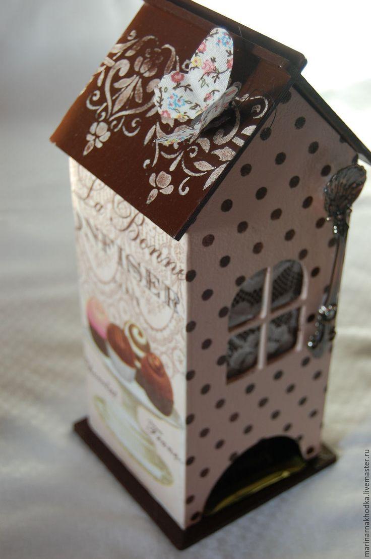 Купить Чайный домик. - чайный домик в подарок, чайный домик декупаж, чайный домик