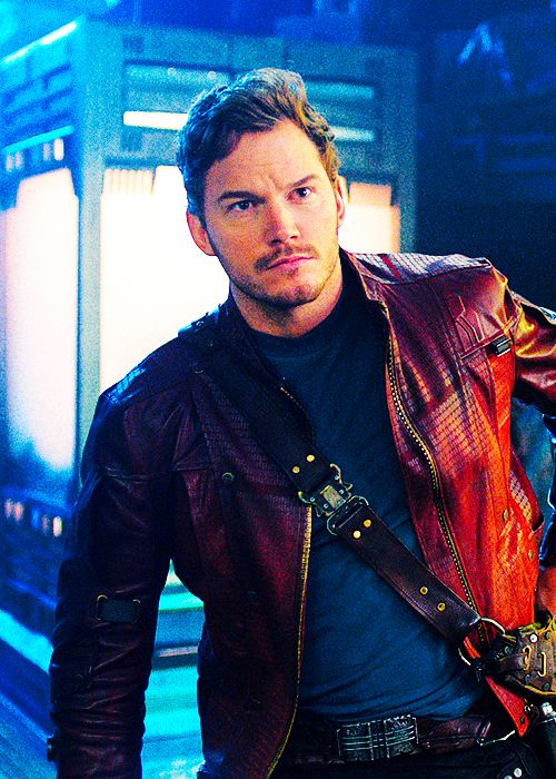 Chris Pratt as Peter Quill / Star Lord in Guardians of the Galaxy (2014)