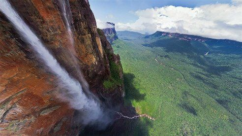 Водопад Анхель,Венесуэла