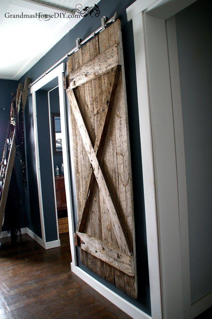 Best 25+ Hanging barn doors ideas on Pinterest | Diy sliding door ...