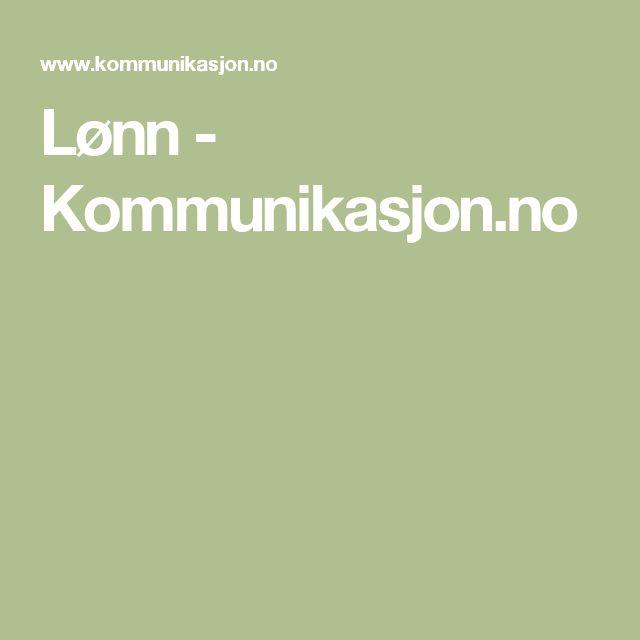 NB NB Lønn - Kommunikasjon.no