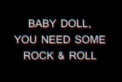 Baby doll rock n roll