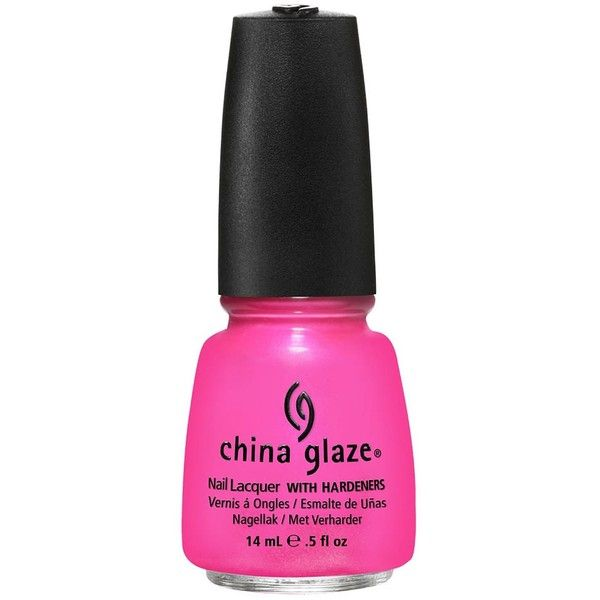 China Glaze Summer Neons ($16) ❤ liked on Polyvore
