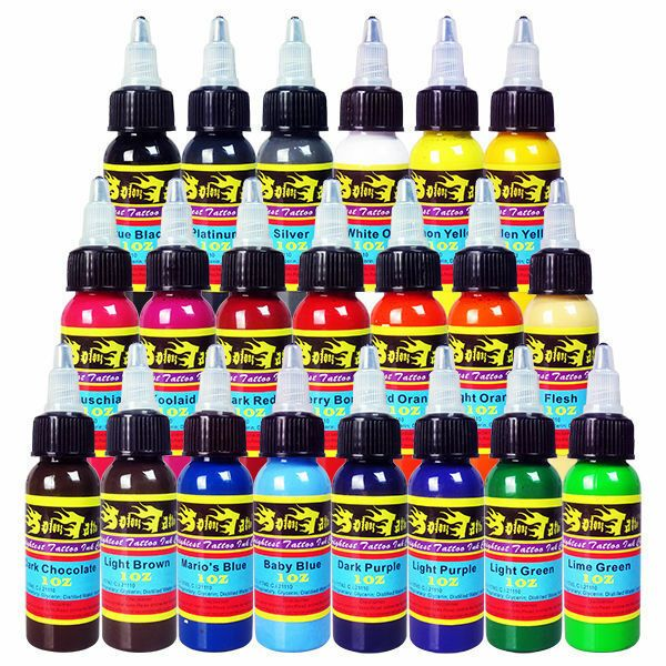 Ebay Sponsored Solong Tattoo Ink 21 Bottle 1oz Quality Pigment Ti301 30 21 With Images Tattoo Ink Sets Bottle Tattoo Ink Tattoo