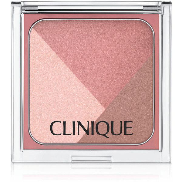 Clinique Sculptionary Cheek Contouring Palette (€29) ❤ liked on Polyvore featuring beauty products, makeup, cheek makeup, blush, beauty, defining berries, blush brush, clinique blush, clinique and rose blush