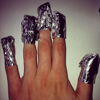 How to: Remove CND Shellac Gel Nails and Glitter Polish Easy At Home- For @All I Need Is You ;)