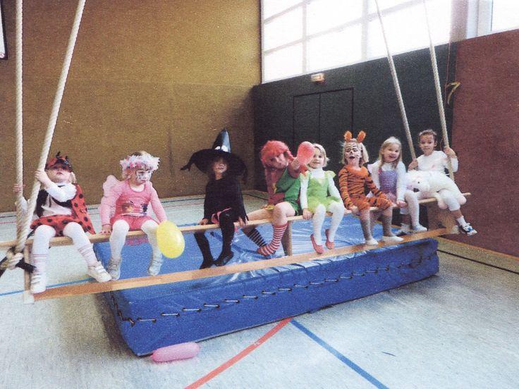 Kindergruppe beim Fasching