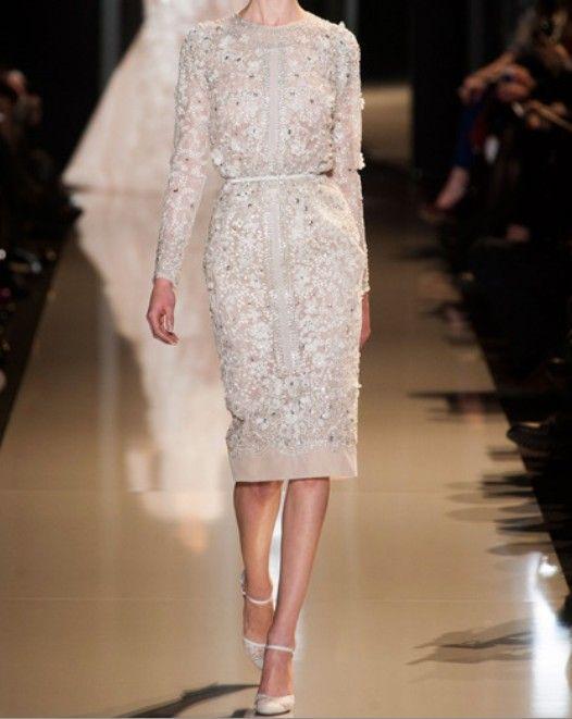 Elie Saab : Haute couture Printemps-été 2013.