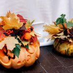 Autumn wedding decor. Свадебный декор осенней свадьбы.