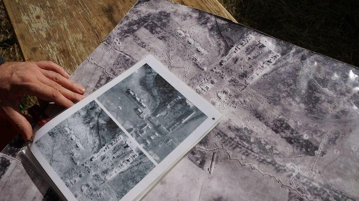 mit luftbildern aus 1945 wird bei klessin seit jahren vom vbgo nach gefallenen soldaten beider. Black Bedroom Furniture Sets. Home Design Ideas