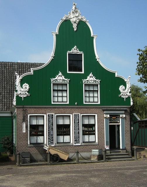 Green house.    Taken in Arnhem (NL)