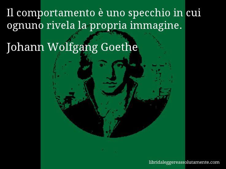 Cartolina con aforisma di Johann Wolfgang Goethe (153)