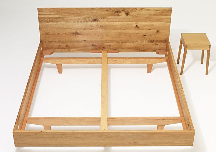 vollholzbett MAMMA wood - sixay furniture - designermöbel aus vollholz in höchstqualität