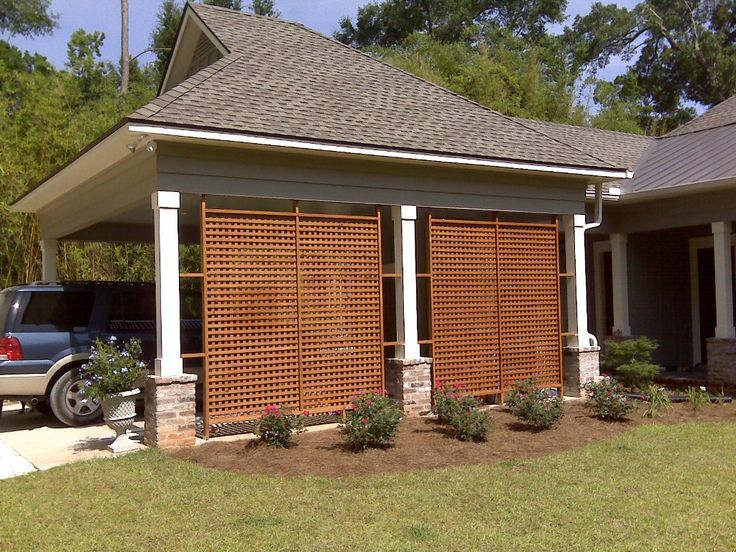 how to build square lattice panels woodworking projects