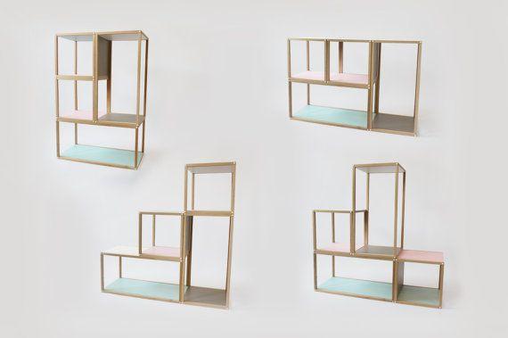 Stacks shelving furniture multi function al by studiolorier