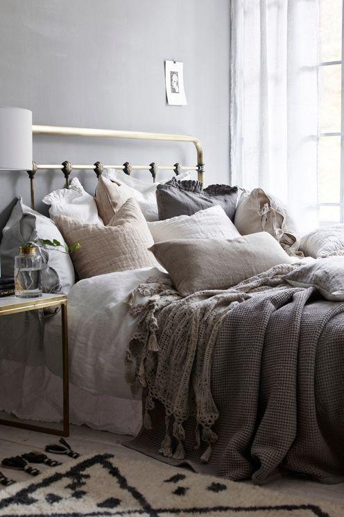 Ellos Home Industriell-sängynpääty