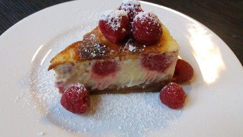 cheesecake de framboesa