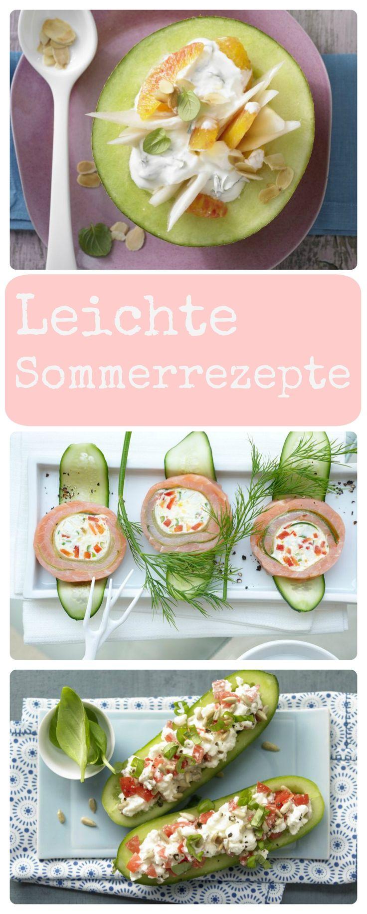 Wer kennt das nicht! Wenn die Temperaturen draußen wieder steigen, möchte man anstatt schwerer Kost viel lieber leichte Sommerrezepte genießen. Egal ob leckere Salate, kalte Suppen, erfrischende Getränke oder kleine Snacks: Leichte Sommerrezepte | http://eatsmarter.de/rezepte/rezeptsammlungen/fotos-3#/0