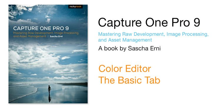 Capture One Color Editor Basic Tab