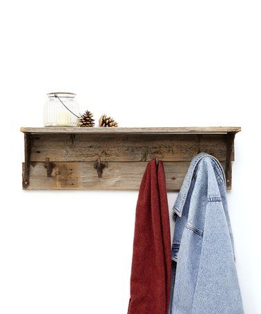 Look what I found on #zulily! Rustic Wall Hook #zulilyfinds