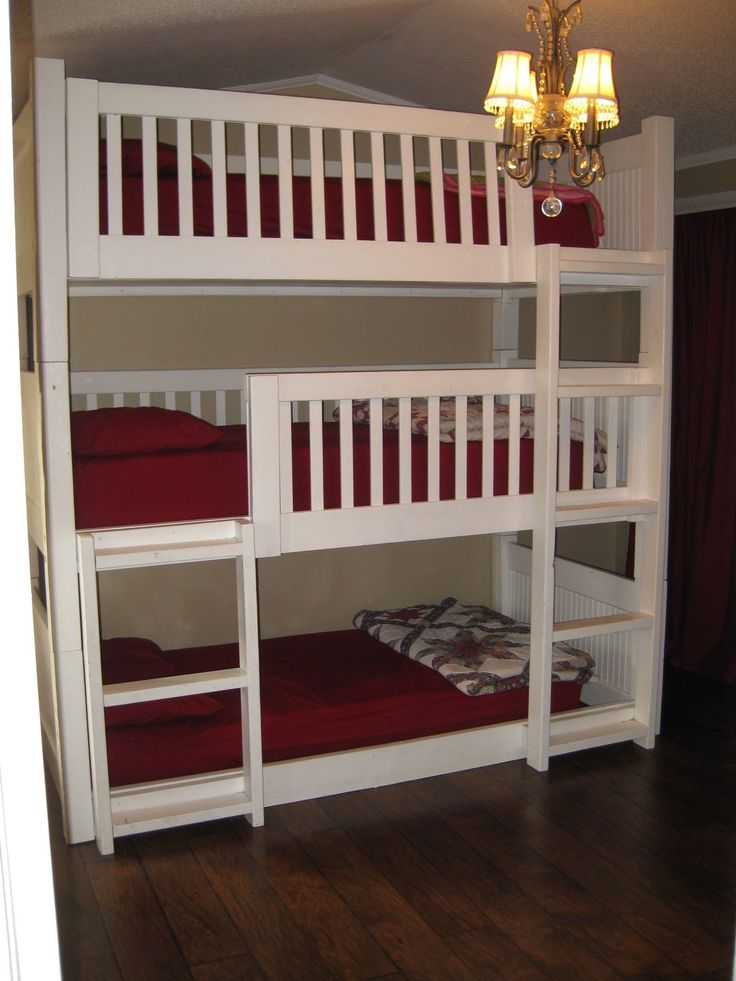 Bunk Bed Solutions 25 best multiple bed solutions images on pinterest | triple bunk