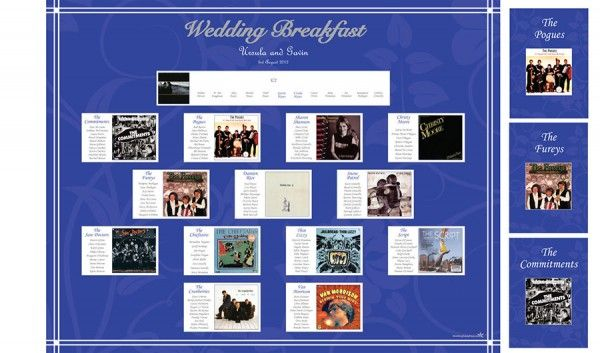 10 best images about table plan on pinterest wedding for 10 x table song