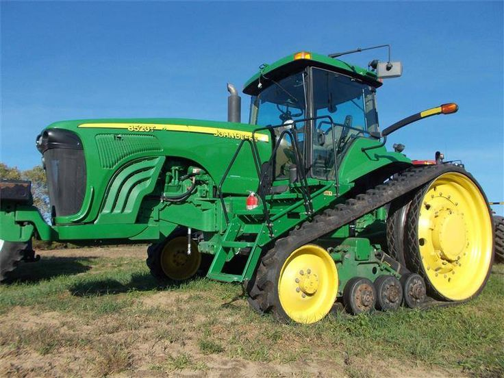 "2004 John Deere 8520T Tractors 175 HP Or Greater For Sale from Beard Implement - Arenzville on Farm Country Trader. 4 Remotes, 3pt, PTO, 18"" tracks, Front weights, Guidance Ready, Air Ride Cab"